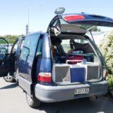 New Zealand【7日目】<南島1日目>クライストチャーチ到着!不安だらけのレンタカー屋さんでキャンパーバンをレンタル。なんとかいけそう??