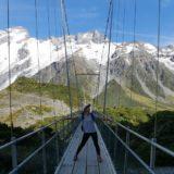 〈2カ国目〉ニュージーランド/ New Zealand【12日目】<南島6日目>快晴!!!!一番人気、フッカーバレートレッキングへ!その後、タスマン氷河リベンジして、移動。