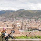 <5ヵ国目>ペルー/Peru【南米54日目】<クスコ5日目>半日がっつりクスコ市内観光!中央市場、12角の石、サンクリストバル教会からの展望ビュー。午後は雨で待機。深夜バスでプーノへ。