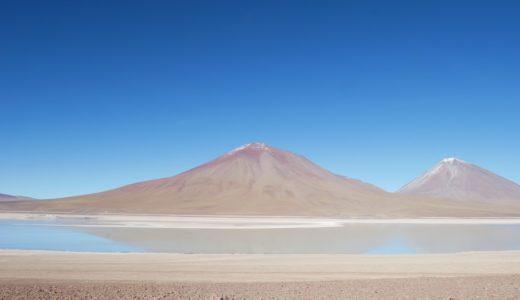 『ウユニ→アタカマ抜けツアー2泊3日』【南米72日目】<3日目>最終日!さよならボリビア~。標高5000mの湯けむり、天然露天、綺麗すぎるラグーナベルデ。そして移動の景色も最高!
