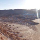 チリ/Chile【南米73日目】<アタカマ>アタカマ砂漠で月の谷ツアー!SF感がすごかった。そして、エンジちゃんと再会!