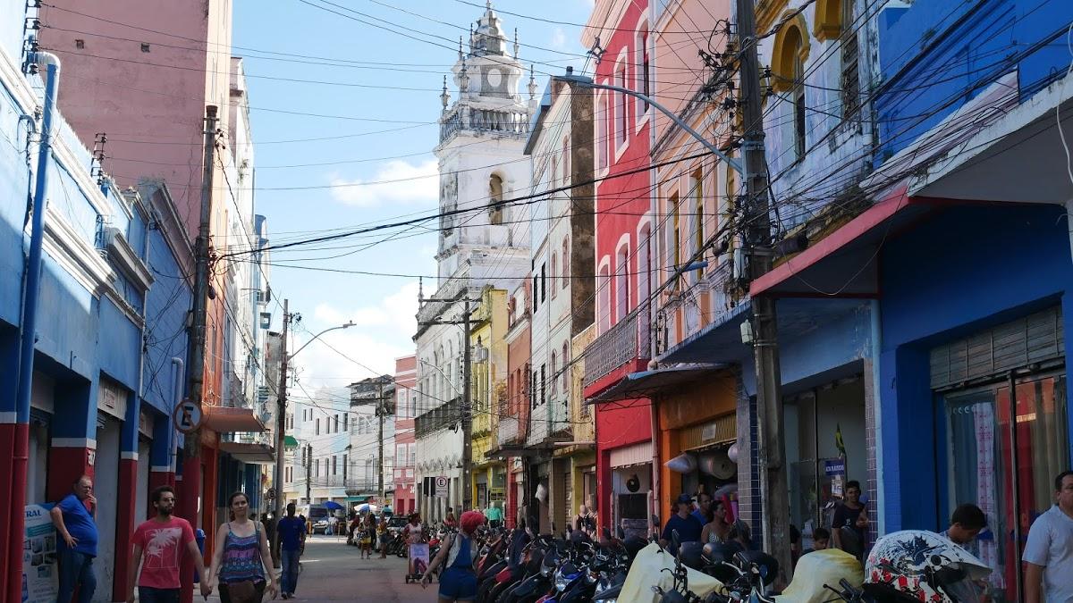 <8ヵ国目>ブラジル/Brazil【南米105日目】<レシフェ泊>夜行バスでレシフェ到着!レシフェ1日観光。旧市街と新市街散策。ローカルフードを食べ歩き!