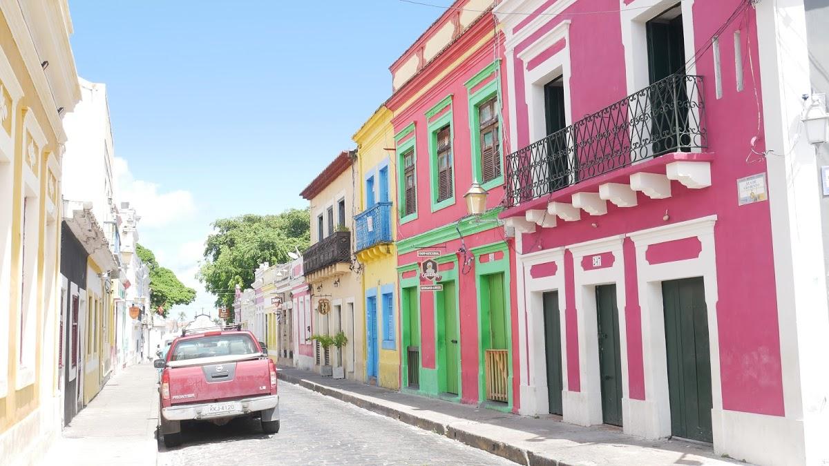 <8ヵ国目>ブラジル/Brazil【南米107日目】<レシフェ泊>世界遺産!コンパクトで可愛い街、オリンダ歴史地区散策。