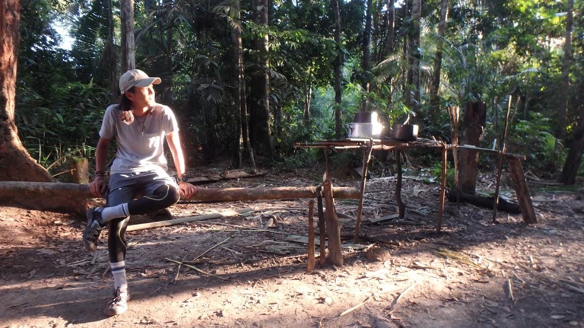 <8ヵ国目>ブラジル/Brazil【南米116日目】<アマゾン2泊3日ツアー2日目>蚊と暑さとの闘い。ご褒美は生ヒーリングミュージック!ハンモックでアマゾンキャンプ!