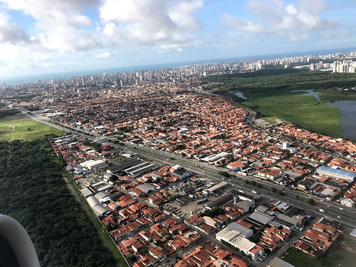 <8ヵ国目>ブラジル/Brazil【南米110日目】<バヘリーニャス泊>フォルタレザからサンルイスまで初ブラジルLCCアズール航空!サンルイスからはバヘリーニャスまでバスで移動。
