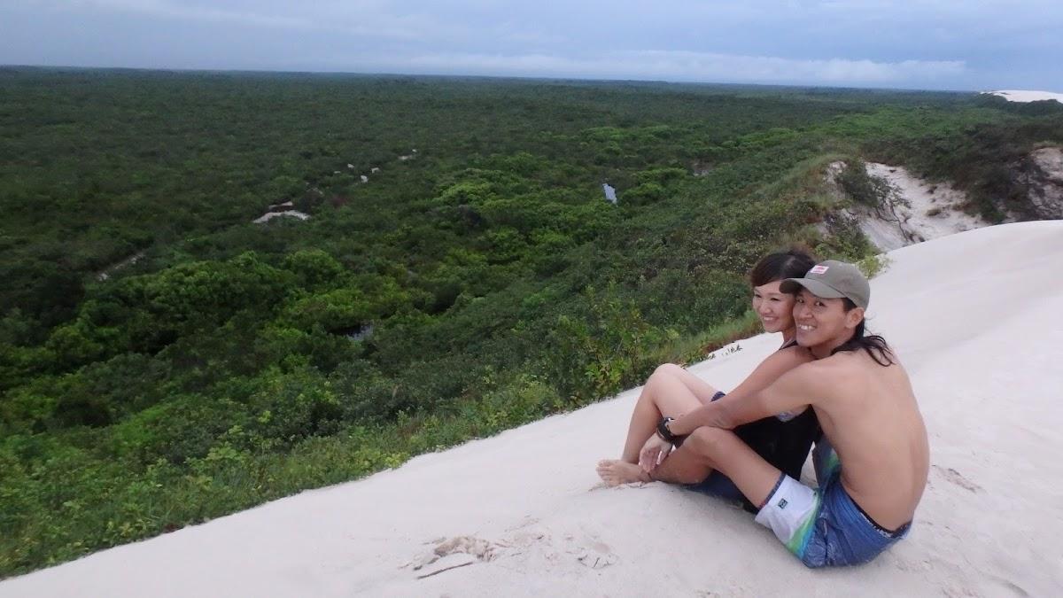 <8ヵ国目>ブラジル/Brazil【南米111日目】<バヘリーニャス泊>悲しみ。豪雨の中のレンソイス・マラニャンセス国立公園!ツアー1日目は午後からラゴーナボニータサンセットツアー。